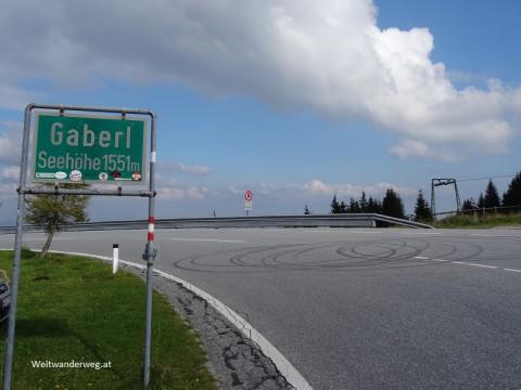 Gaberlstrasse und Gaberlpass in der Steiermark