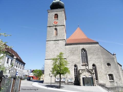 Kirche in Sierning, Traunviertel, Oberösterreich