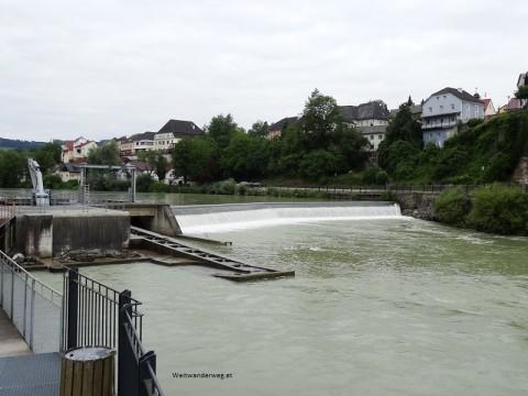 Fluss Steyr zwischen Steinbach an der Steyr und Grünburg