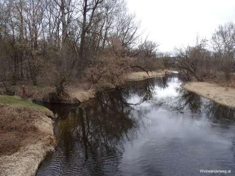 Fluss Kamp bei Hadersdorf am Kamp