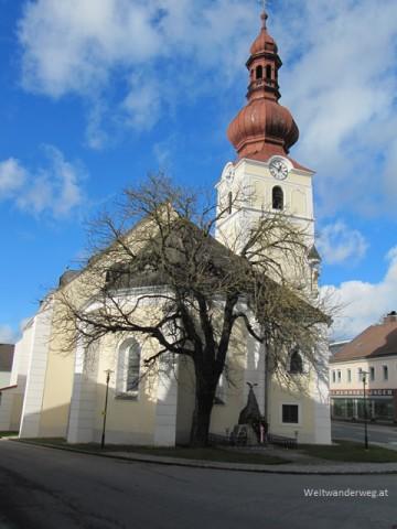 Kirche in Ottenschlag, Waldviertel