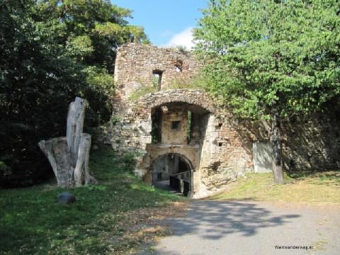 Ruine Landsee im Burgenland