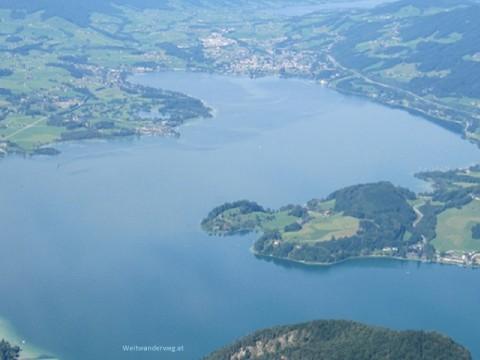 Mondsee, Salzkammergut,Schafberg