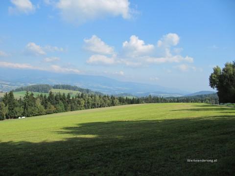 Landschaft im Joglland bei Vorau, Oststeiermark