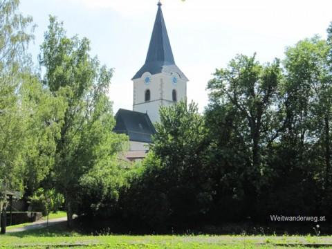 Kirche von Weitra im Waldviertel