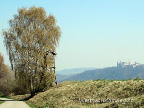 Wachau Landschaft bei Stift Göttweig in Niederösterreich