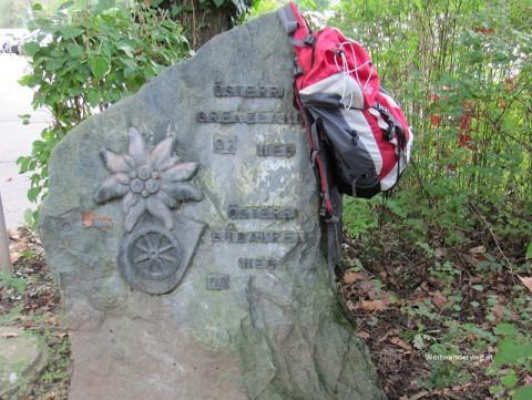 Weitwanderstein von Carl Hermann in Bad Radkersburg