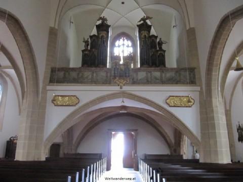 Kirche in Großrußbach, Weinviertel, Niederösterreich
