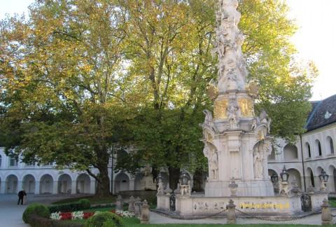 Innenhof Stift Heiligenkreuz