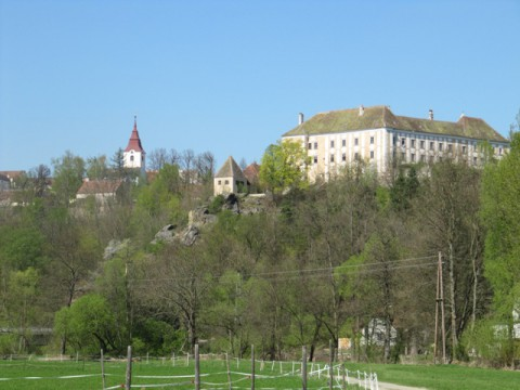 Drosendorf mit Schloss