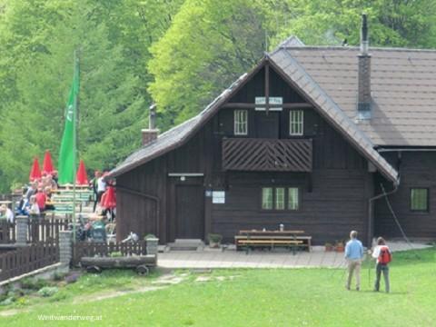 Die Grünburger Hütte in Oberösterreich