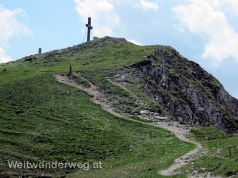Der Alpengipfel Hohe Veitsch