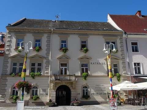 Rathaus von Judenburg in der Steiermark