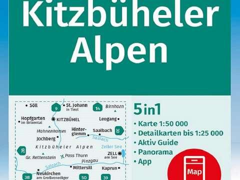 Kompass Karte Band 29, Kitzbüheler Alpen