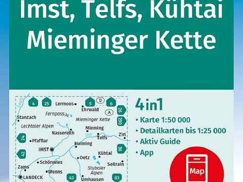 Kompass Band 35, Imst, Telfs, Kühtai, Mieminger Kette