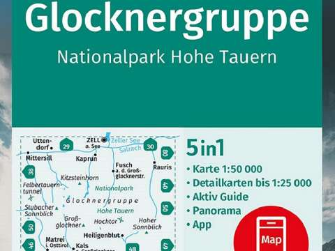 Kompass Band 39, Glocknergruppe, Nationalpark Hohe Tauern