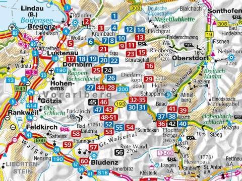 Kompass Bregenzerwald und Großes Walsertal