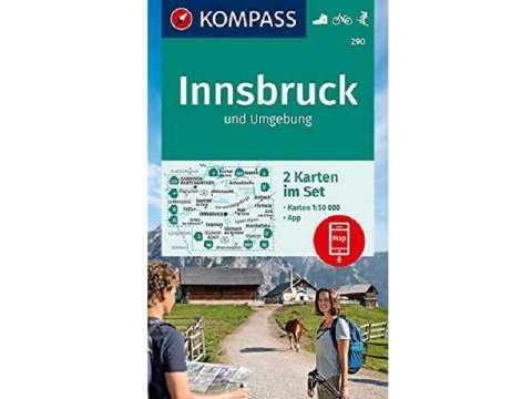 KOMPASS Karte Innsbruck