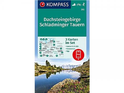 Kompass Karte Band 293, Dachsteingebirge, Schladminger Tauern