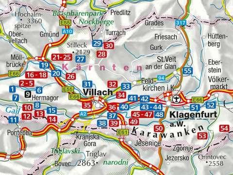 KOMPASS Wanderführer 5639, Kärntner Seen, Ausgabe 2021