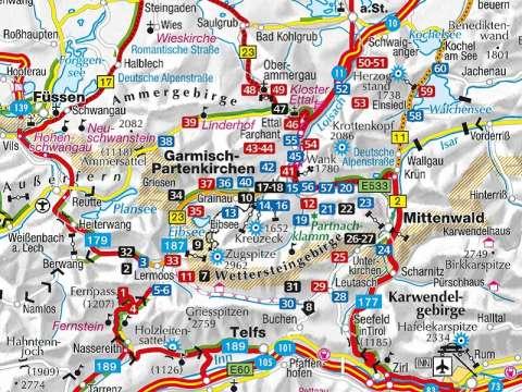 KOMPASS Wanderführer Zugspitze, Werdenfelser Land