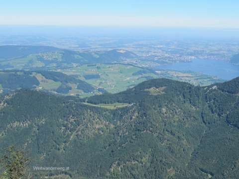 Ausblick Naturpark Attersee-Traunsee