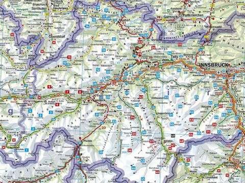 Rother Wanderbuch Almen und Hüttenwanderungen Tirol Oberland