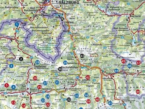 Rother Alm- und Hüttenwanderungen Salzburger Land
