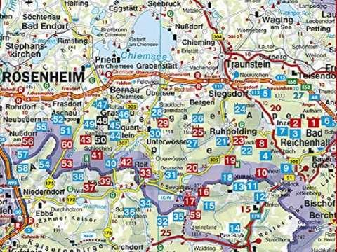 Rother Chiemgau, Alm- und Gipfelwanderungen