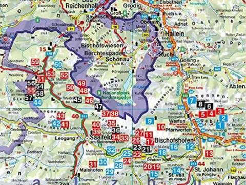 Rother Wanderführer Hochkönig, Steinernes Meer, Tennengebirge, Steinberge