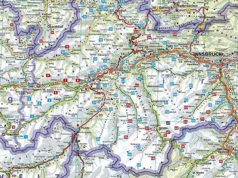 Rother Bergverlag Alm- und Hüttenwanderungen Tirol Oberland