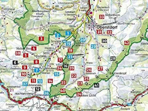 Rother Wanderführer Kleinwalsertal, mit Oberstdorf und Umgebung