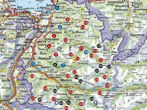 Rother Wanderbuch Vorarlberg