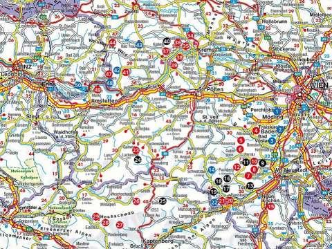 Rother Wanderbuch Wilde Wege Ostösterreich: Waldviertel - Ötscher - Hochschwab - Schneeberg