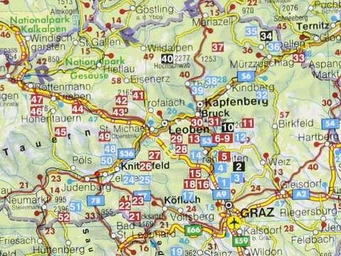 Rother Wanderführer Grazer Hausberge, Murtal, Mürztal, Bruck an der Mur