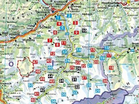 Rother Wanderführer Zillertal, Gerlos- und Tuxer Tal