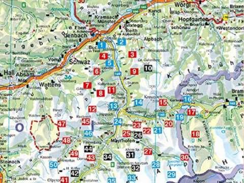 Rother Wanderführer Zillertal mit Tuxer Alpen