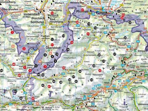 Rother Wanderführer Wilde Wege Allgäu - Lechtal