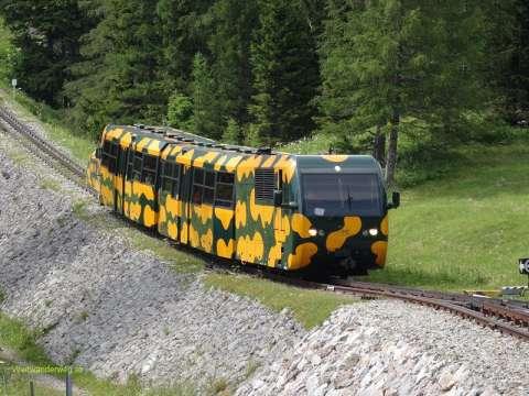 Salamander Schneebergbahn, Schneeberg