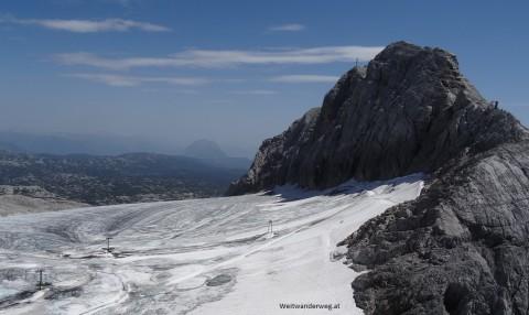 Ausblick Dachstein Gletscher
